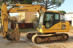 Escavatore cingolato Komatsu PC130-K7 - Lotto  (Asta 2744)