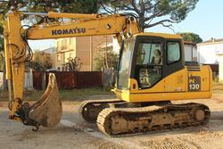 Escavatore cingolato Komatsu PC130-K7 - Lotto 1 (Asta 2744)
