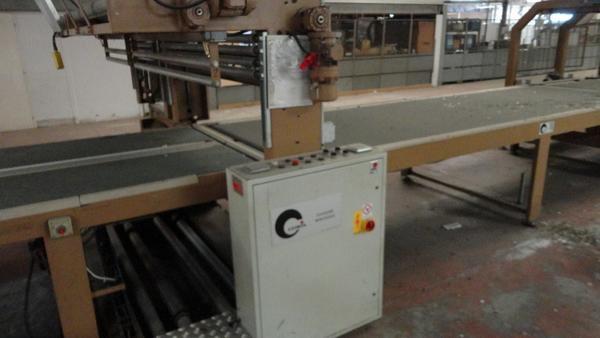 Lotto macchinario linea forno per imballaggio piani for Piani artigiani per lotti stretti