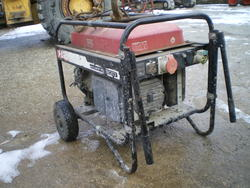 Honda ECMT 8500 power generator - Lot 61 (Auction 2762)