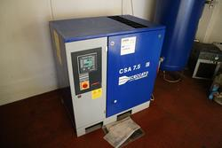 Ceccato rotary screw compressor - Lot 6 (Auction 2783)