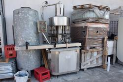 Enoberg filling machine and labeling machine - Lot 21 (Auction 2786)