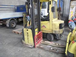 Hyster electric pallet stackers - Lot 11 (Auction 2787)