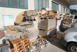 Cardboard pallets - Lot 13 (Auction 2798)