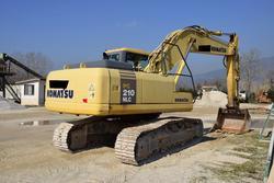 Escavatore Komatsu 210 - Lotto 21 (Asta 2799)