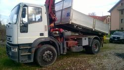 Iveco Eurocargo truck with crane - Lot 1 (Auction 2801)