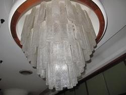 Chandeliers and wall light in Murano glass - Lot 1 (Auction 2805)