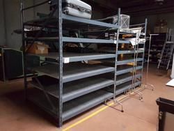 Shelving for warehouse - Lot 9 (Auction 2808)