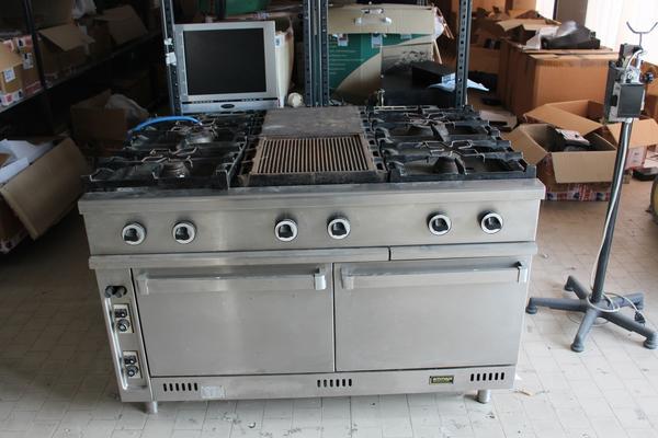 Lotto Cucina industriale Emmepi Grandi Cucine