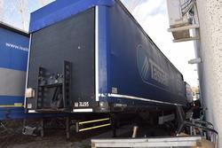 Semi trailer Tirsan - Lot 6 (Auction 2820)