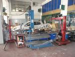 Gruetta idraulica Grazia e pressa pneumatica smontamolle Spin - Lotto 10 (Asta 2830)