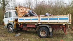 Camion Fiat 145 e materiale edile - Lotto  (Asta 2844)