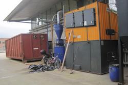 Ciclo termico con travaso Ferroli Woodmatic - Lotto 27 (Asta 2857)