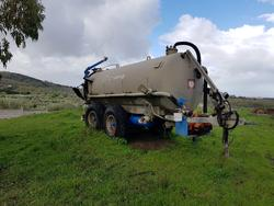 Moro agricultural trailer with barrel - Lot 1 (Auction 2866)