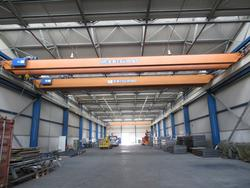 Omis bitrave overhead cranes and Caterpillar forklift truck - Lot  (Auction 2869)