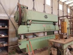 CBC press bending machine and band saw - Lot 5 (Auction 2877)