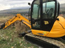 Escavatore JBC Komatsu martello idrauilico Hummer e pala Sigma - Lotto  (Asta 2882)