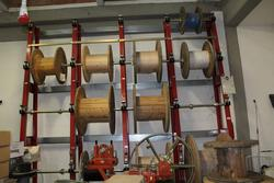Meccanica Nicoletti reel holder rack - Lot 6 (Auction 2890)