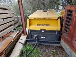 Atlas Copco motor compressor - Lot 26 (Auction 2895)
