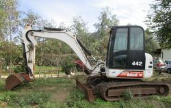 Bobcat track excavator - Lot 33 (Auction 2895)