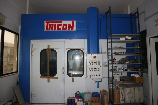 10#2907 Cabina vernicitura Tricon