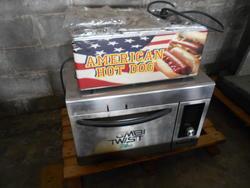 Cuoci Hot Dog mini elettrico e forno Combi Plus elettrico - Lotto 1 (Asta 2918)