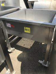 Stainless steel tank on wheels - Lot 60 (Auction 2920)