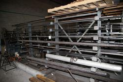 Aluminum round bars and flat iron bars - Lot 29 (Auction 2930)