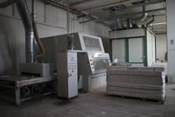 Scorniciatrice Weinig Unimat e impianti produzione cornici - Lotto 0 (Asta 2932)