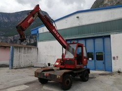 Volvo FL614 truck Euromach excavator spider and various equipment - Lote  (Subasta 2949)