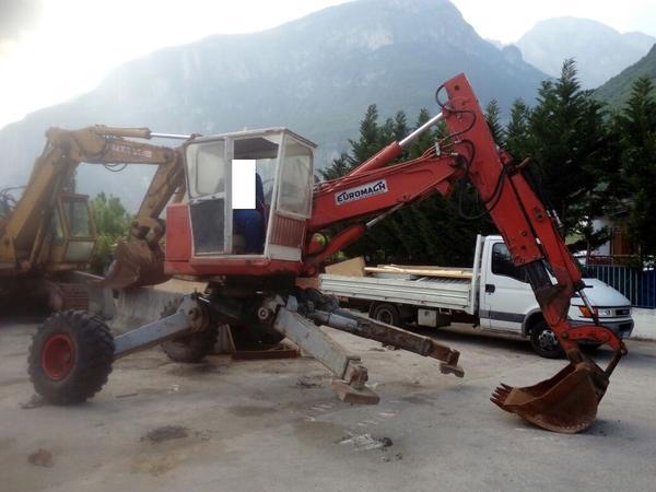 Immagine n. 3 - 17#2949 Escavatore ragno Euromagh Tigrone