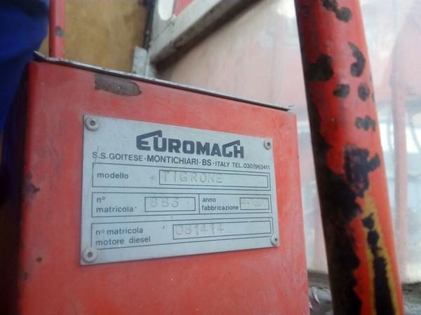 Immagine n. 10 - 17#2949 Escavatore ragno Euromagh Tigrone