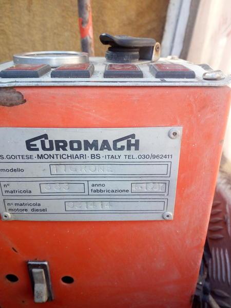 Immagine n. 11 - 17#2949 Escavatore ragno Euromagh Tigrone