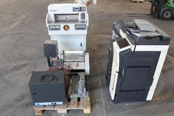 Binder Laminator and Slitting Machine Wiremac Manual Binding Machine Sysform Punching machine - Lot 1 (Auction 2951)