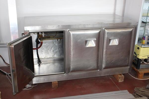 4#2958 Banco cella frigo Inox