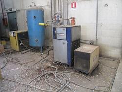 Kaeser compressor and Carer forklift - Lot 3 (Auction 2961)