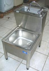 Lavello lava-secchio in acciaio inox - Lotto 4 (Asta 2973)