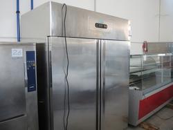 Double door fridge cabinet - Lot 27 (Auction 2983)