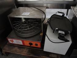 Fornetti e piastra elettrica - Lotto 54 (Asta 2983)