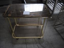 Carrello in vetro e carrello in ferro - Lotto 57 (Asta 2983)