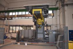 Tecnorobot welding robot and sandblasting system - Lot 0 (Auction 2993)