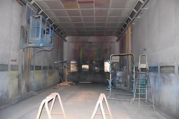 lotto cabina di verniciatura modular
