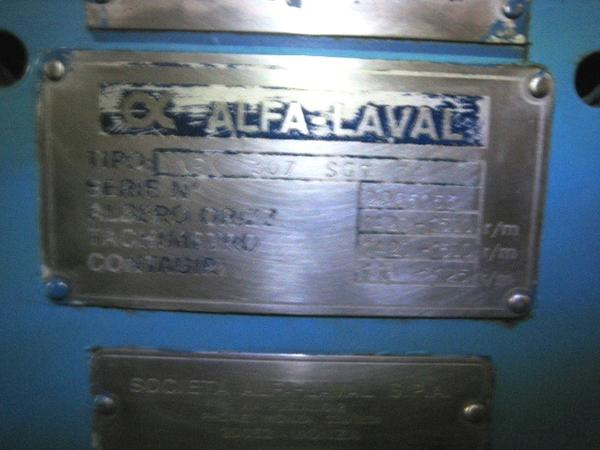 21#2996 Centrifuga Alfalaval