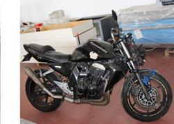 Moto Kawasaki Z750 nera - Lotto 1 (Asta 3049)