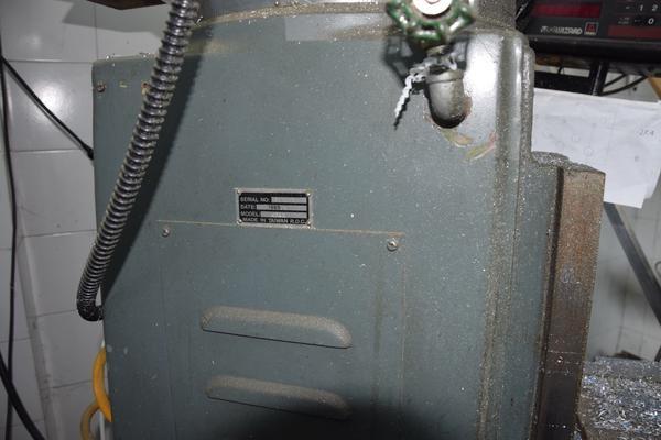 Immagine n. 6 - 3#3051 Fresatrice a torretta verticale