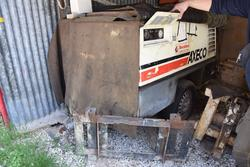 Axeco compressor and concrete injector pump - Lot 3 (Auction 3059)