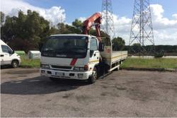 Isuzu mobile crane - Lot 26 (Auction 3066)