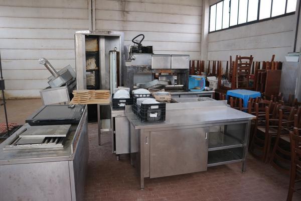 1#3096 Forno MBM e attrezzatura ristorazione