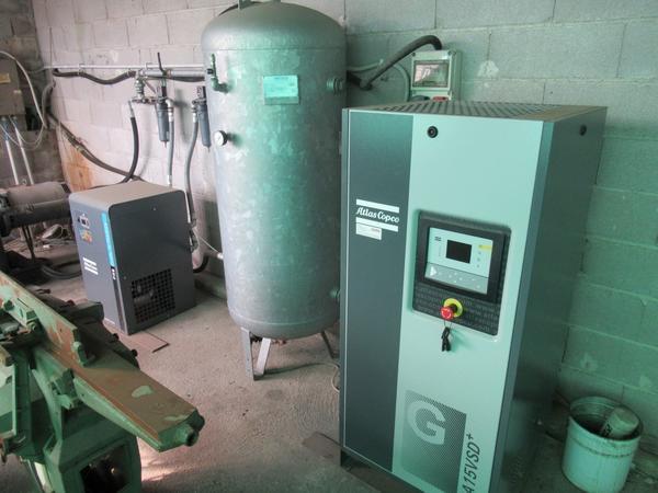 27#3116 Compressore ed essiccatore Atlas Copcp