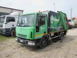 Iveco Eurocarg 100E17 Mini compactor for garbage - Lot 3 (Auction 3117)